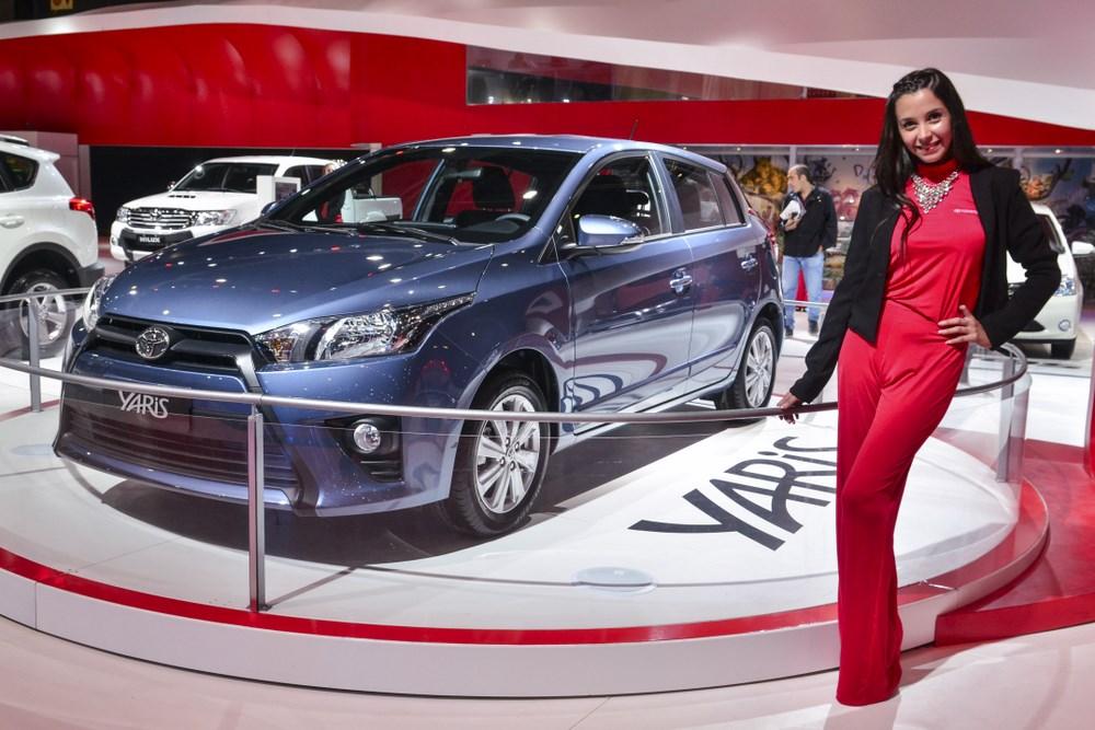 El Toyota Yaris se presentó en el 7º Salón de Buenos Aires, anticipando su llegada en 2016 para esperar el Rally de Argentina 2017, cuando su pariente de competición promocione sus ventas locales...